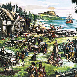 The American Settlers - Ron Embleton