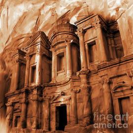 The Ancient Treasury Petra by Gull G