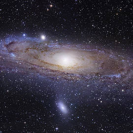 The Andromeda Galaxy by Robert Gendler