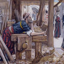 The Anxiety of Saint Joseph - James Jacques Joseph Tissot