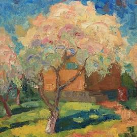 Anna Shurakova - The Apple trees in bloom