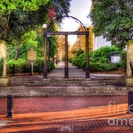 Reid Callaway - The Arch 4 University Of Georgia Arch Art