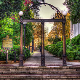 Reid Callaway - The Arch University Of Georgia Arch Art