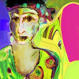 The Artist in Fauve Working Artist by Zsanan Studio