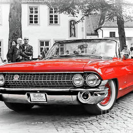 The Attraction - 1961 Cadillac DeVille Convertible by Gabriele Pomykaj