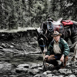 The Back Country Guardian by Brad Allen Fine Art