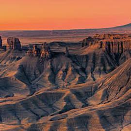 Henk Meijer Photography - The Badlands overview, Utah