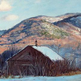 Bonnie Mason - The Barn in Winter