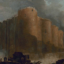 The Bastille in the first days of its demolition - Hubert Robert