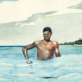 The Bather, 1899 - Winslow Homer