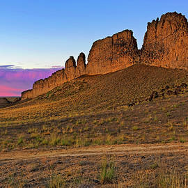The Battlements Of Shiprock - New Mexico - Landscape by Jason Politte