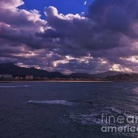 The Bay Of Saint Jean De Luz, France by Poet's Eye
