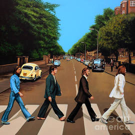 The Beatles Abbey Road by Paul Meijering