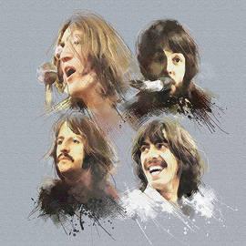 The Beatles  by Boghrat Sadeghan
