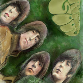 The Beatles, Rubber Soul by Mark Tonelli