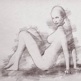 The beautiful Odette by Joaquin Abella