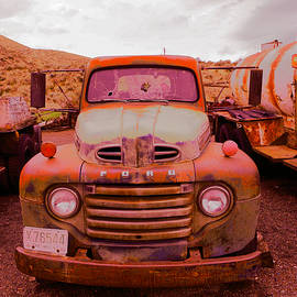 The beauty of an old rusty truck