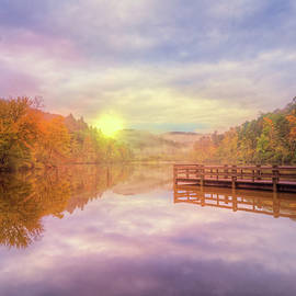 Debra and Dave Vanderlaan - The Beauty of Autumn on the Lake