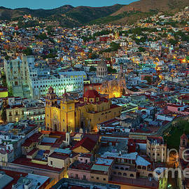 The Beauty Of Guanajuato, Mexico At Twilight by Sam Antonio Photography