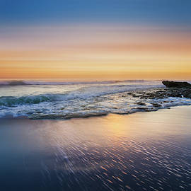 The Beauty of Waves Dreamscape by Debra and Dave Vanderlaan