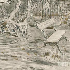 Vincent Van Gogh - The Bench
