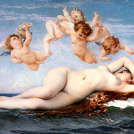 The Birth Of Venus 1863 by Alexandre Cabanel 1823-1889
