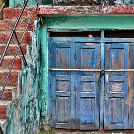 The Blue Door - India by Kim Bemis