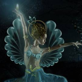 Terry Fleckney - The Blue Fairy