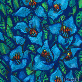 Julia Khoroshikh - The Blue Puya