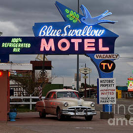 The Blue Swallow Motel by Rick Pisio