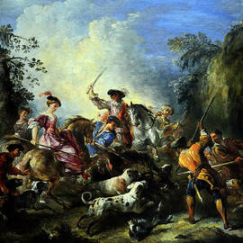 Olivier Blaise - The boar hunt