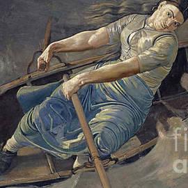 The Bold Woman, 1886 - Ferdinand Hodler