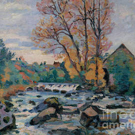 Jean Baptiste Armand Guillaumin - The Bouchardon Mill, Crozant