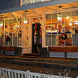 The Brewster General Store by Dianne Cowen