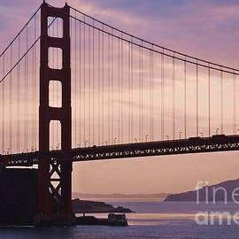 The Golden Gate Bridge At Dawn, First Vision by Poet's Eye