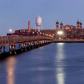 The Bridge To Ellis Island by Tom Singleton