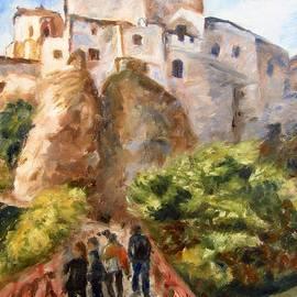 Helen Sviderskis - The bridge to the town, Cuenca, Spain