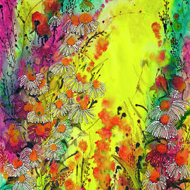 The Bright Side of Yellow 22X30 by Shirley Sykes Bracken