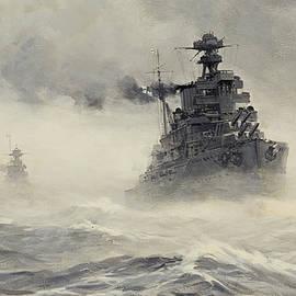 Montague Dawson - The British Fleet