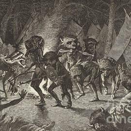 Frederic Remington - The Buffalo Dance