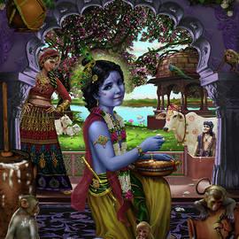 The Butter Thief by Vishnudas Art