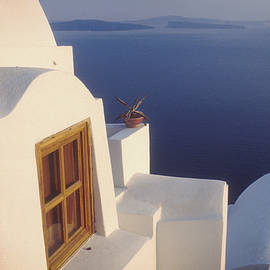 Yuri Lev - The Caldera, off of Santorini, Greece