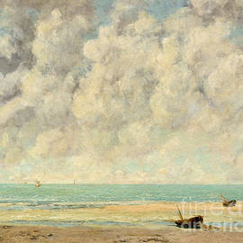 Gustave Courbet - The Calm Sea, 1869