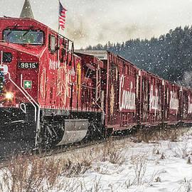 Brad Allen Fine Art - The Canadian Pacific Holiday Train