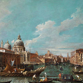 Giovanni Antonio Canal - The cannament of the great canal
