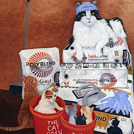 The Cat Crew by Karen Zuk Rosenblatt
