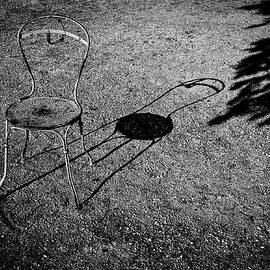 The Chair In Luxembourg garden. by Cyril Jayant