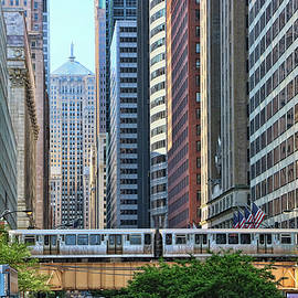 The Chicago L  by Allen Beatty