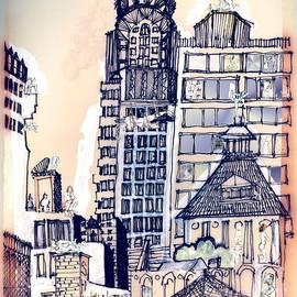 Carolyn Weltman - The Chrysler Building An Erotic Fantasy
