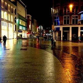 Joan-Violet Stretch - The City Centre At Night 2